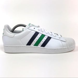 Adidas Superstar II 2 White Green Low Shoes G59928